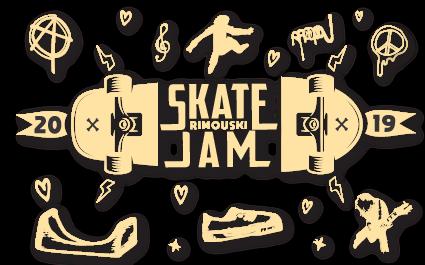 SKATE JAM - RIMOUSKI Logo